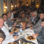 Abendessen in Szombathely